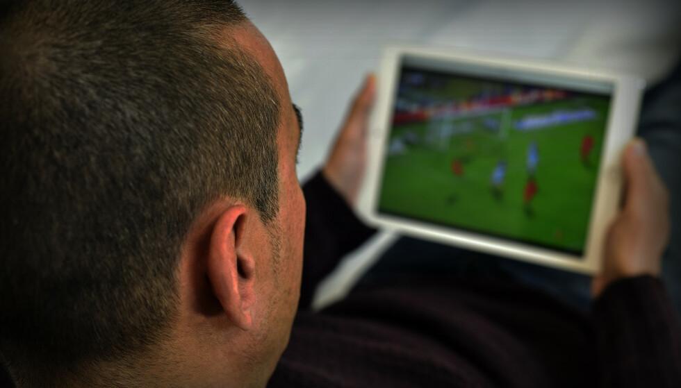 JURIDISK GRÅSONE: Enkelte typer gratisstrømming av sportsarrangementer kan føre til bøter, eller fengsel. Foto: Shutterstock / NTB Scanpix