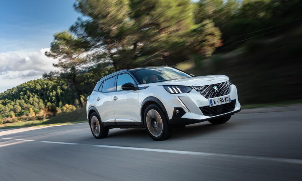 ALDRI VÆRT BILLIGERE: Mange nye, rimelige modeller med god rekkevidde som Peugeot e-2008 til under 300.000 kroner, er rett rundt hjørnet. Foto: Rune Korsvoll