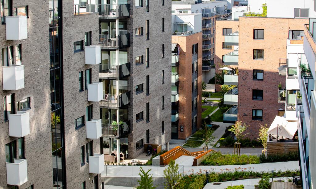 ØKER: Fra desember til januar økte prisene på Obos-leiligheter med ni prosent i Oslo. Foto: Audun Braastad / NTB Scanpix