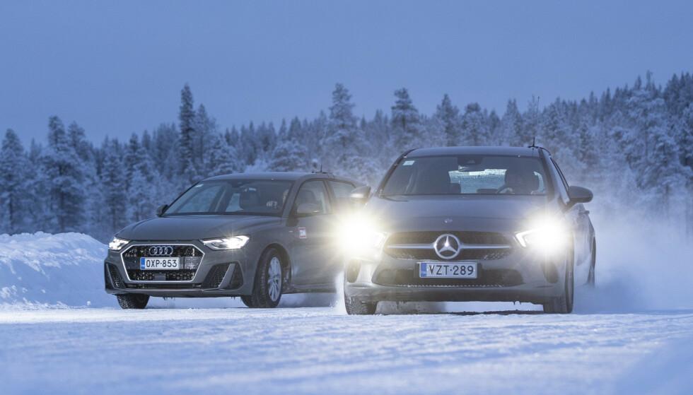 LUKSUSBILER: Ikke bare Mercedes, men også andre luksusbiler som Audi, har mange tilbakekallinger. Foto: Markus Pentikainen