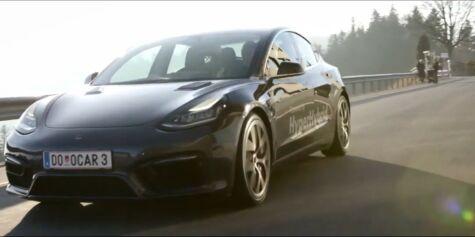 image: Tidenes første Tesla på bensin
