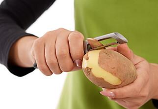 Smarte tips: Ikke kast potetskallet
