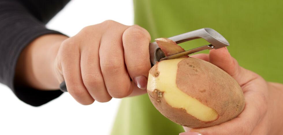 image: Smarte tips: Ikke kast potetskallet