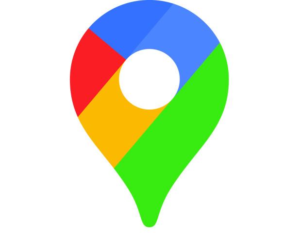 Slik er det nye Google Maps-ikonet. Foto: Google