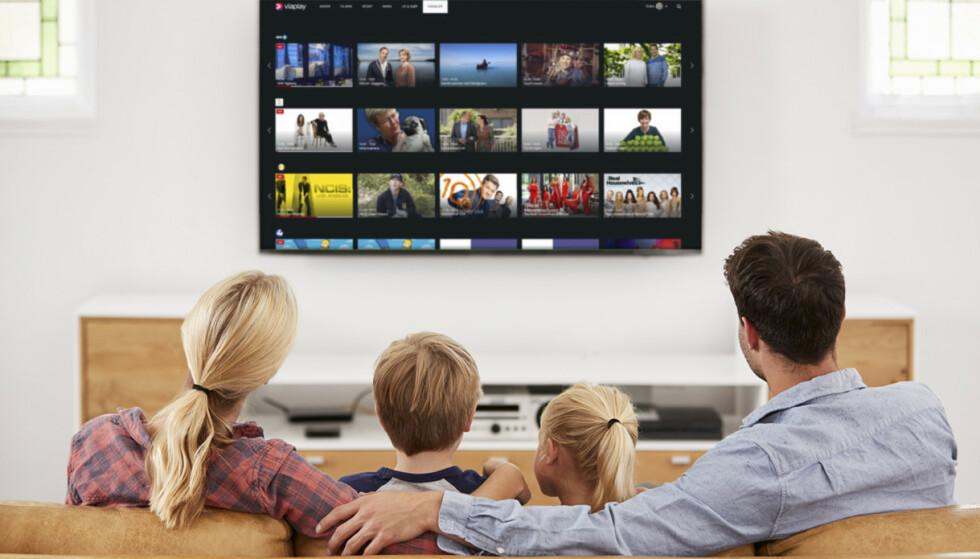 PÅ HYTTA ELLER I LEILIGHETEN: Med ett abonnement sikrer du deg TV-kanaler på flere steder og på flere enheter.