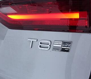 «T8»: Dette er navnet på de populære ladbare hybridmotorene til flere av Volvos modeller. Foto: Jamieson Pothecary