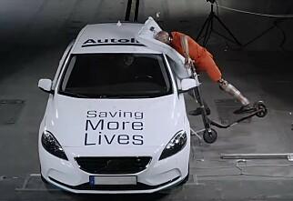 Airbag for el-sparkesykkel
