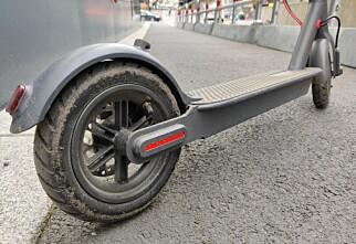 Elsparkesykkel-ulykke kan gi førerkortbeslag