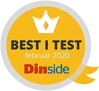 MEDALJEVINNER: Devold får Dinsides best-i-test-stempel på sitt ullsett.
