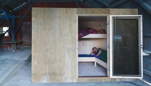 Til sommeren kan du booke en av sengeplassene, til 100 kroner per person. Foto: Dag Jenssen