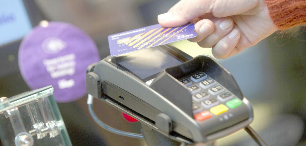 image: Enorm økning i kontaktløs betaling