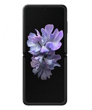 Z Flip-skjermen måler 6,7 tommer over diagonalen og har et 21,9:9-aspekt. Foto: Samsung