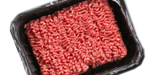 image: Pakkene inneholder for lite kjøtt