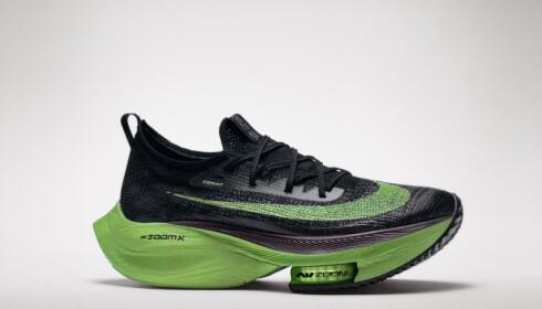 «Nike Air Zoom Alphafly NEXT%», offisielt bilde av den justerte rekordskoen
