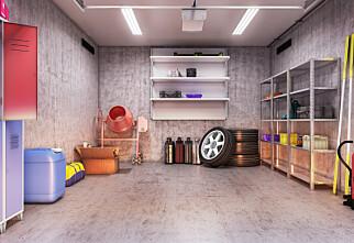 Slik rydder du garasjen