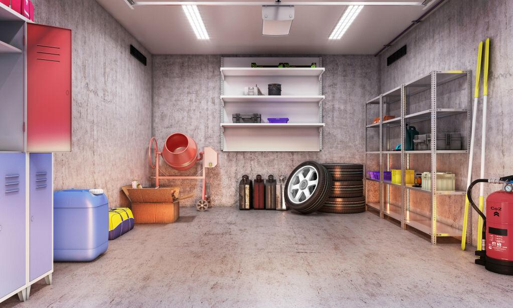 image: Ryddig garasje på 1-2-3