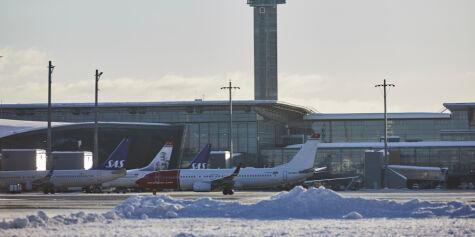 image: Fredag blir det travelt på Oslo Lufthavn