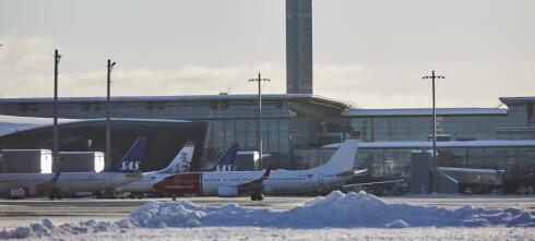 Fredag blir det travelt på Oslo Lufthavn