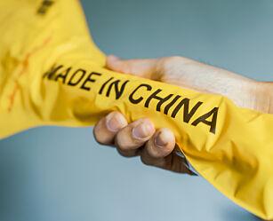 image: Dette skjer med pakker og mat fra Kina