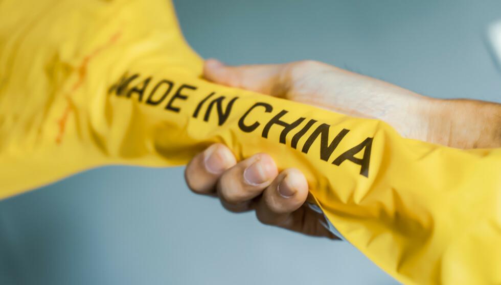 KINA-PAKKE? Foreløpig er det ingenting som tilsier at det er risiko forbundet med import av varer fra Kina. Men Mattilsynet understreker at det er endel begrensninger på import av mat og næringsmidler, spesielt når det kommer til privatimport. Foto: Shutterstock/NTB scanpix