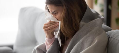 Influensatoppen er ikke nådd