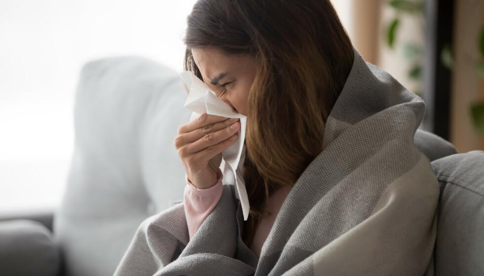 INFLUENSATOPPEN IKKE NÅDD: Antallet influensasmittede stiger, men toppen er fortsatt ikke nådd, ifølge FHI. Foto: NTB Scanpix