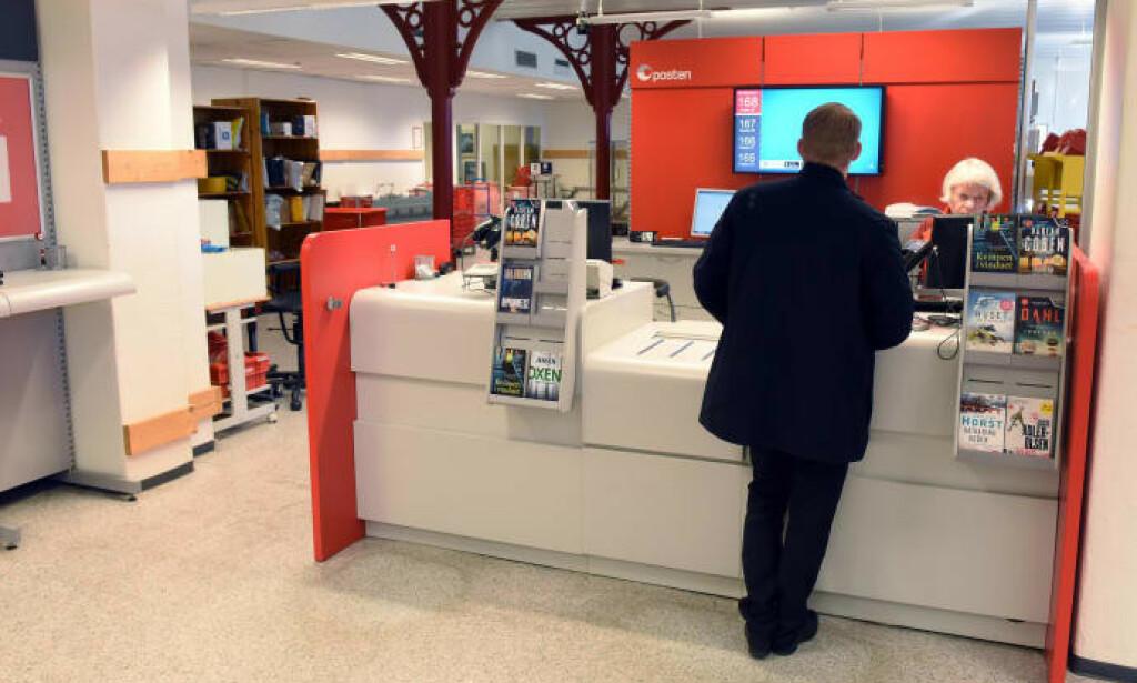 AVVIKLES: 1. juli er det slutt på DNBs banktjenester via Posten. Foto: Birger Morken/Posten