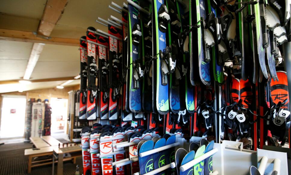 SKIKKELIG OPPLEGG: Ulike ski er tiltenkt ulikt ferdighetsnivå. Foto: Reuters/Regis Duvignau