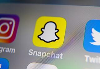 Snapchat tester nytt design