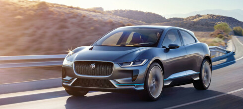 Stanser produksjon av Jaguar I-Pace