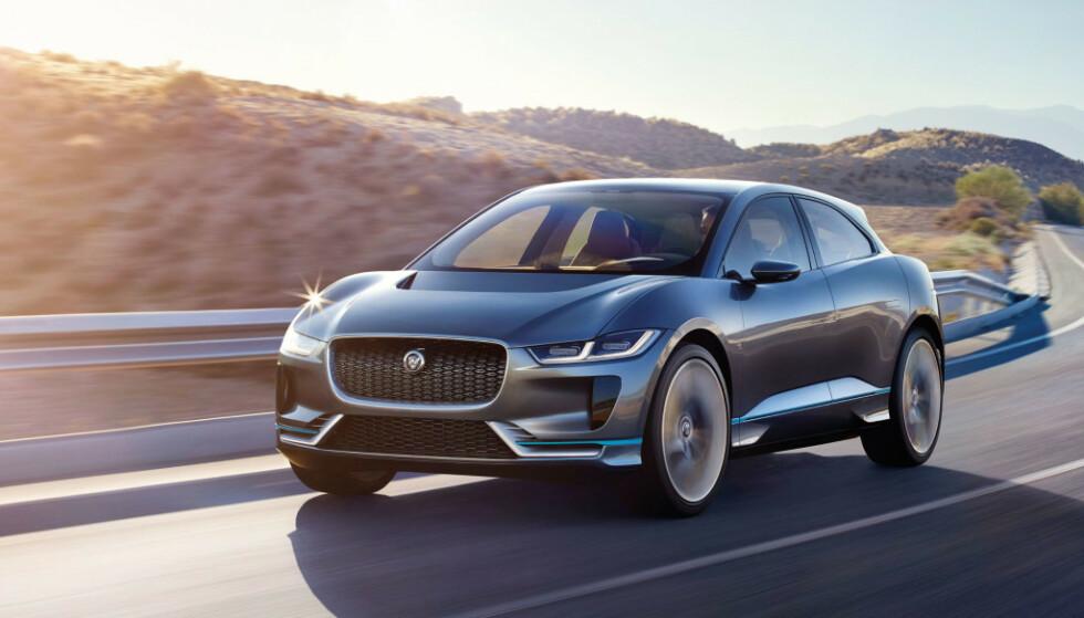 BREMSER PRODUKSJONEN: Batteriutfordringer er årsaken til at Jaguar stanser produksjonen av I-Pace midlertidig. Foto: Jaguar