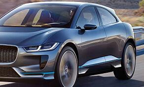 image: Jaguar i-PACE får stryk på bremsetest