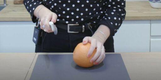 image: Appelsintriks: funker det?