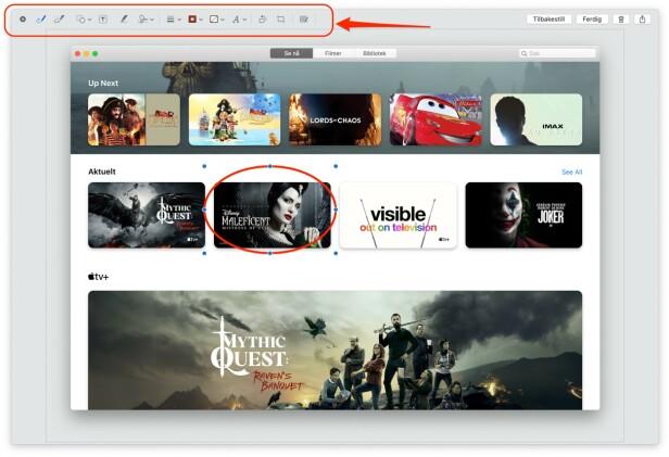 Hvordan ta skjermbilde på Mac