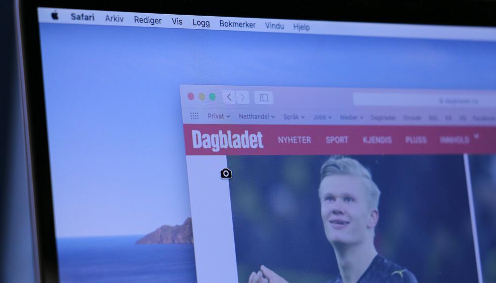 TA SKJERMBILDE: Her er et bilde av Mac-skjermen - men hvordan tar du et skjermbilde på Mac? Foto: Kirsti Østvang