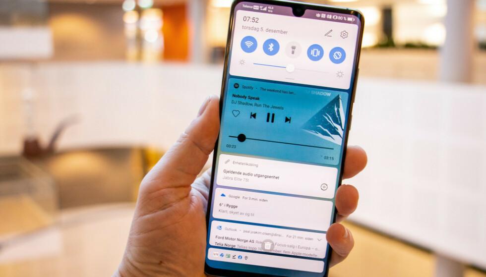 OPPDATERES: Mange har nettopp fått Android 10, men nå har Google begynt å teste oppfølgeren. Foto: Pål Joakim Olsen