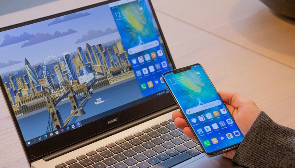 Huawei Share fungerer overraskende godt. Foto: Martin Kynningsrud Størbu