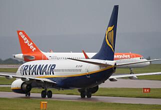 Ryanair og Finnair topper svarteliste