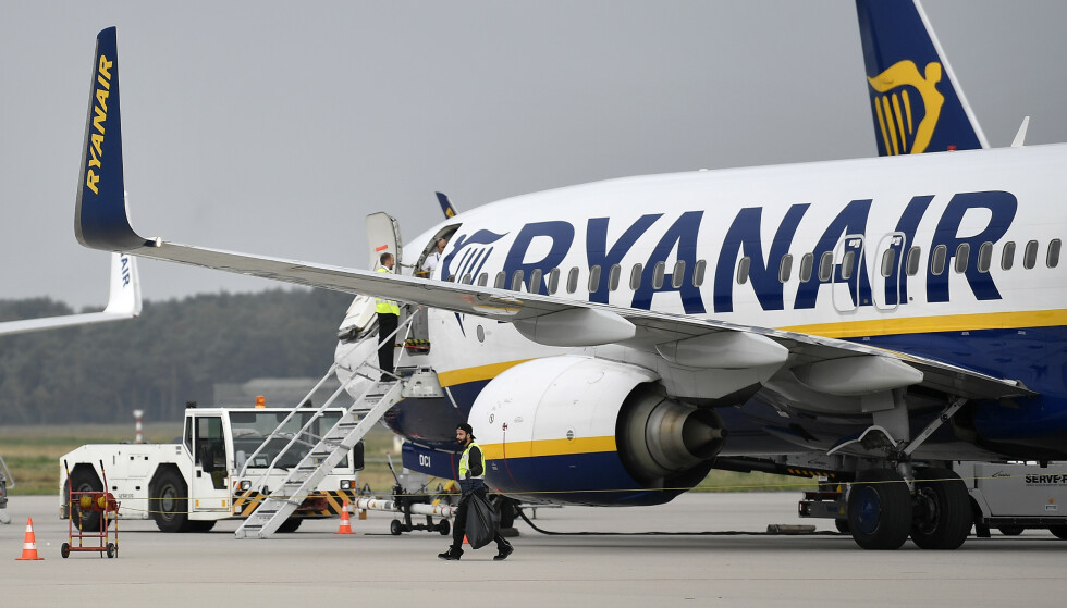 RYANAIR NEKTER REFUSJON: Ryanair topper svarteliste over selskaper som nekter å retter seg etter vedtak i klagenemnda. De skylder svenske forbrukere over 100.000 kroner. De forklarer situasjonen med at de må avvise krav som de mener skyldes forsinkelser etter uforutsette hendelser som de ikke kan klandres for. Foto: NTB scanpix