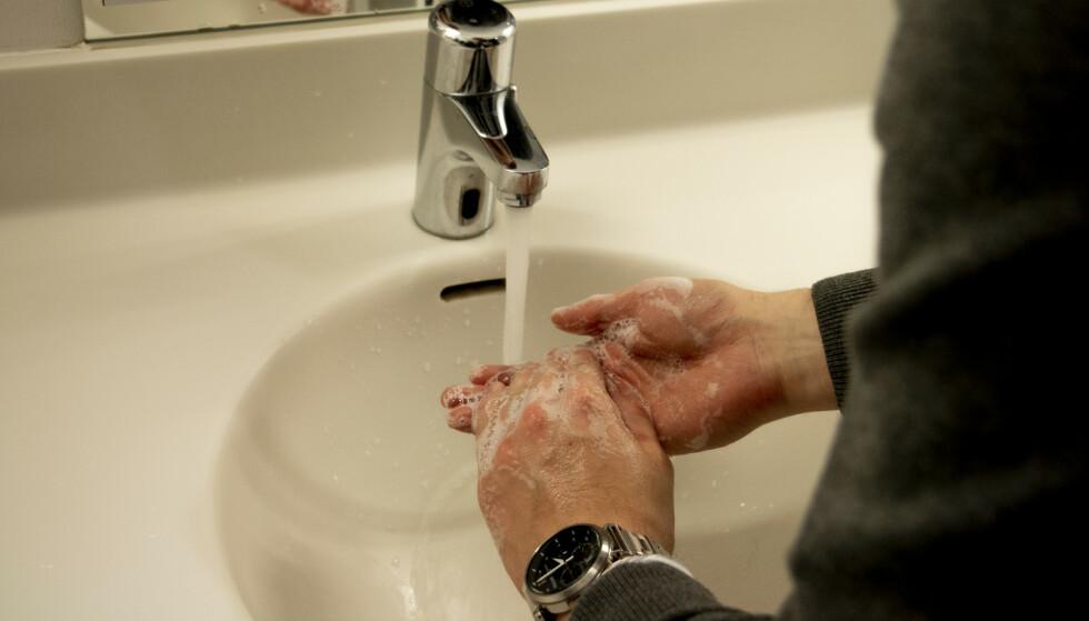 Sprit er ikke bedre enn håndvask