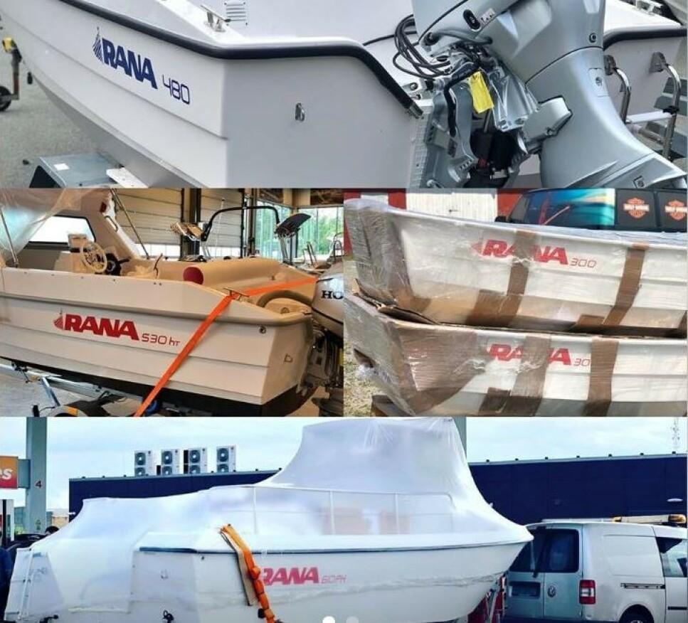 RANA-BÅTER: Sjøfartsdirektoratet advarer om mangler på ALLE Rana-modeller som er satt på markedet etter 2014. Dette omfatter Rana 300, 425, 430, 460, 480, 520, 530, 540, 610, 630 og 640 og varianter av disse. Den opprinnelige tilbakekallingen gjelder Rana 540 og Rana 430. De understreker at dette er båter produsert og satt på markedet av Rana Plast AS, nå Båtsalg AS, under nåværende eier. Det gjelder ikke Rana-båter produsert under tidligere eiere av selskapet. Foto: Farligeprodukter.no
