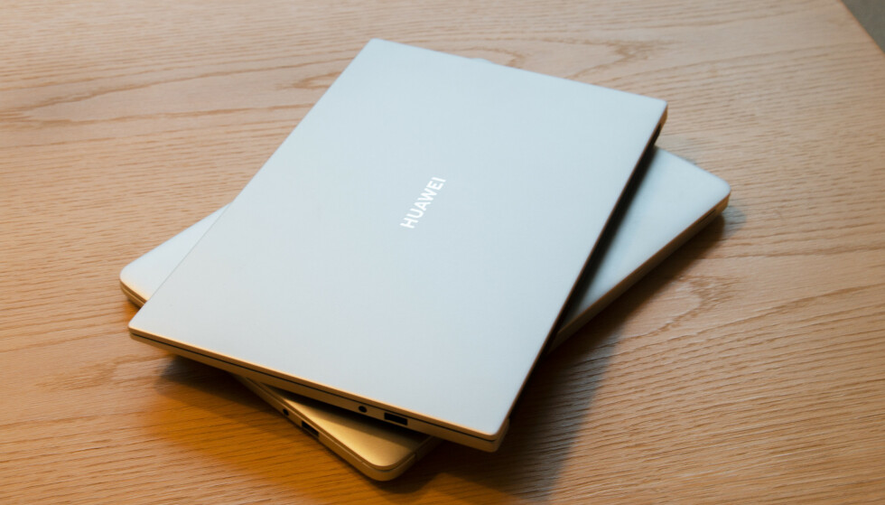 Huawei holder seg i samme designgate – det liker vi. Foto: Martin Kynningsrud Størbu