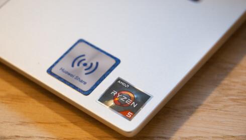 Klistremerket avslører at her er det AMD om bord. Foto: Martin Kynningsrud Størbu