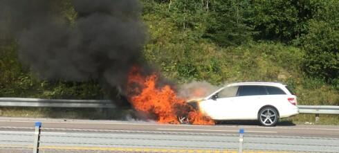 38 bilmodeller brann-utsatt