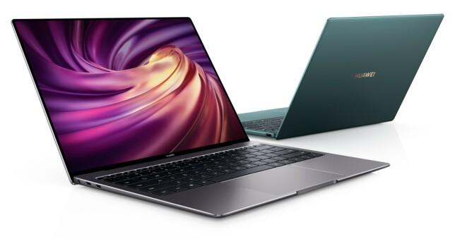 HUAWEIS GJEVESTE: Matebook X Pro kommer i mai og koster fra 18.000 kroner. Foto: Huawei