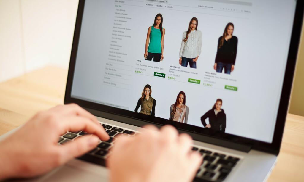 MINDRE SMÅHANDEL: Sparebank 1 Østlandet har gjennomført en undersøkelse som tyder på at vi vil se mindre småhandel i utenlandske nettbutikker etter at momsgrensa fjernes i april. De er spente på hva som skjer i praksis. Foto: Robert Schlesinger/NTB Scanpix.