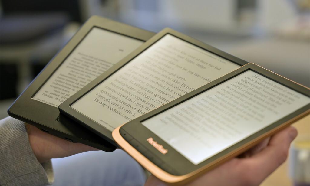 LESEBRETT: Skal du ha en digital dings til å lese bøker på, er det ingenting som slår et lesebrett. Foto: Martin Kynningsrud Størbu