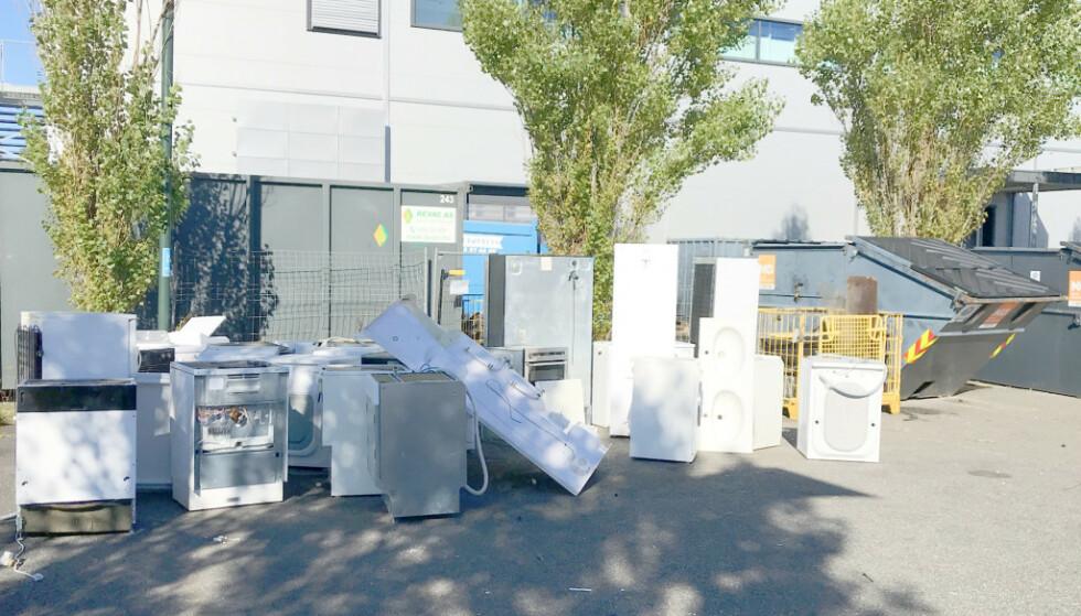 STRAFFBART: Nå skal søppelsmuglingen fra returmottakene stoppes. Foto: Miljødirektoratet