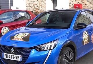 Peugeot slo Tesla i Car of the Year