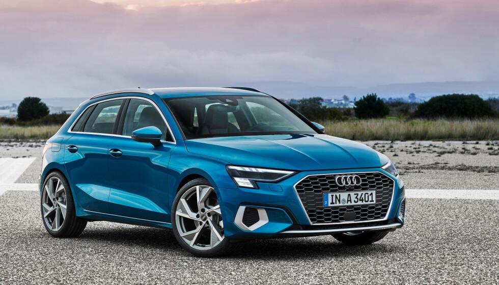 «SVÆR I KJEFTEN»: Designen gjør den mer snerten enn tidligere modeller. Foto: Audi